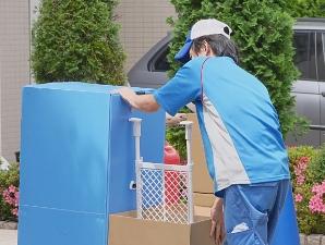 特殊な環境の搬出、搬入にも対応